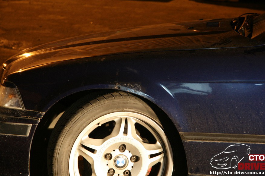 bmw e36 pokraska kryila kapota dveri 9747 BMW E36   покраска крыла, капота, двери