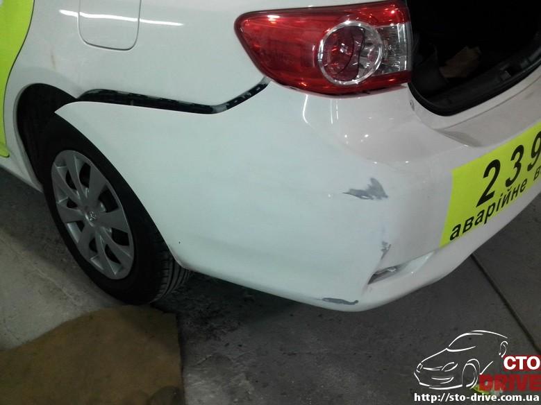 toyota corolla lokalnyiy remont bamperov 20121010 202741 Toyota Corolla   локальный ремонт бамперов