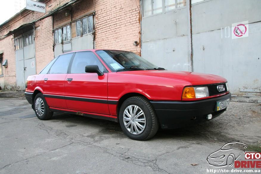 audi 80 remont porogov 2062 Audi 80   ремонт порогов