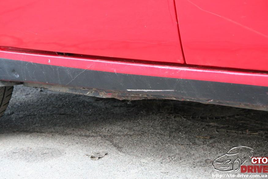 audi 80 remont porogov 2065 Audi 80   ремонт порогов