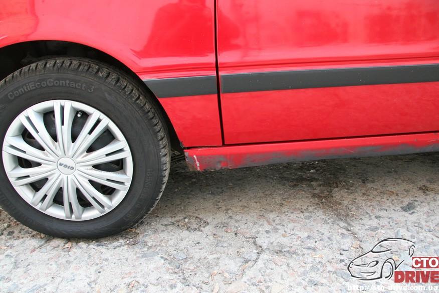 audi 80 remont porogov 2066 Audi 80   ремонт порогов