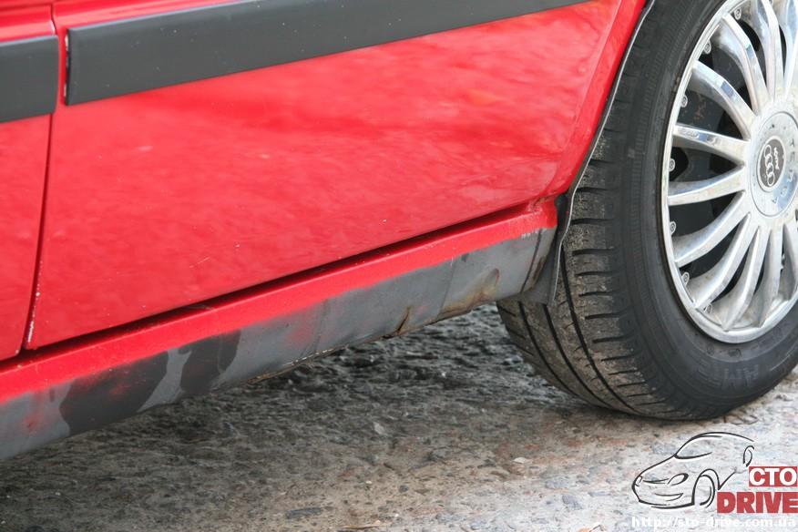audi 80 remont porogov 2068 Audi 80   ремонт порогов