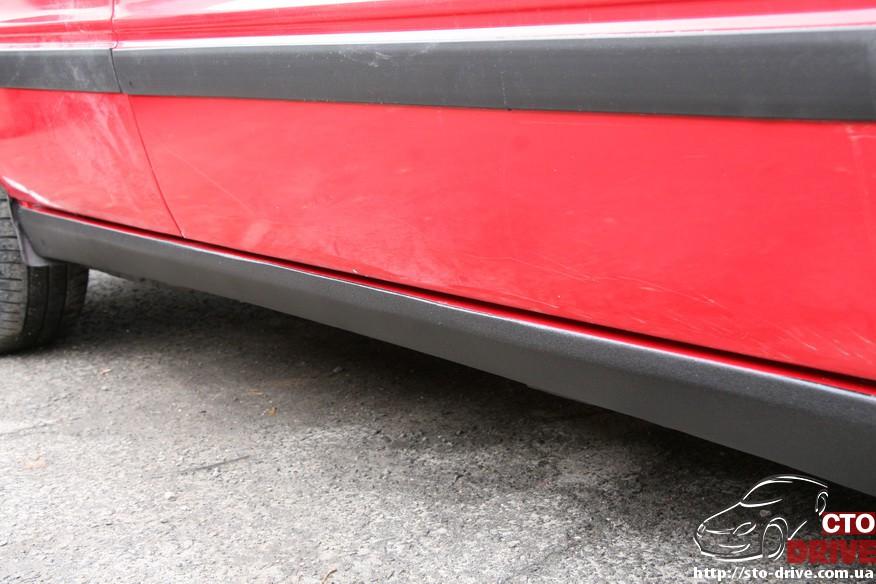 audi 80 remont porogov 2337 Audi 80   ремонт порогов