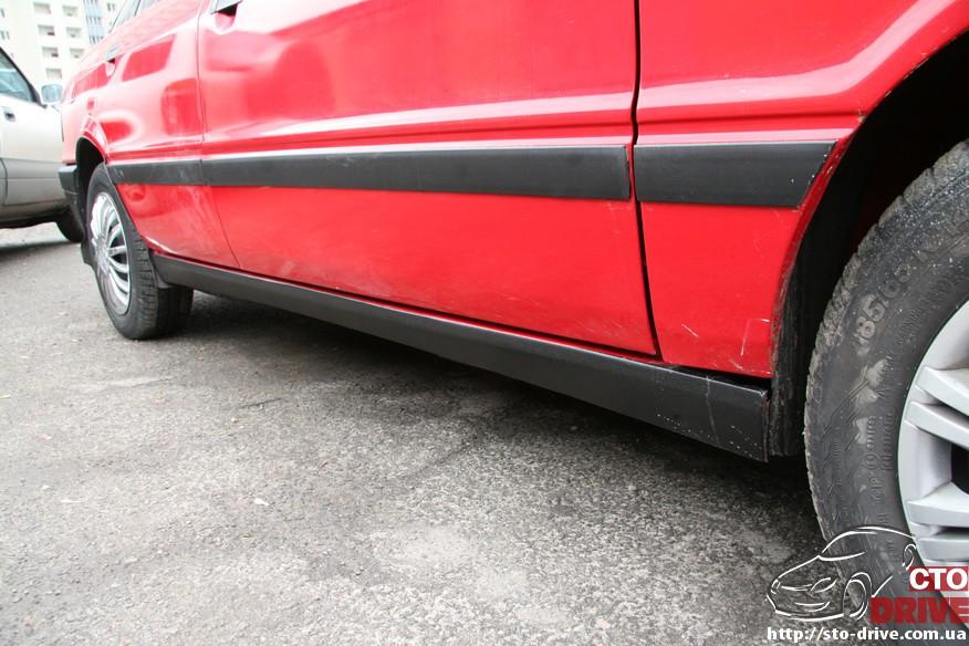 audi 80 remont porogov 2339 Audi 80   ремонт порогов