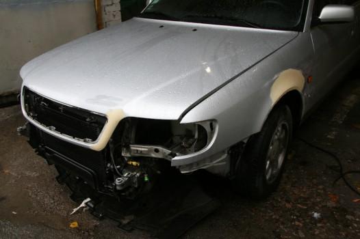 audi a6 universal remont bamperov rihtovka pokraska 1821 526x350 custom Audi A6, универсал   ремонт бамперов, рихтовка, покраска