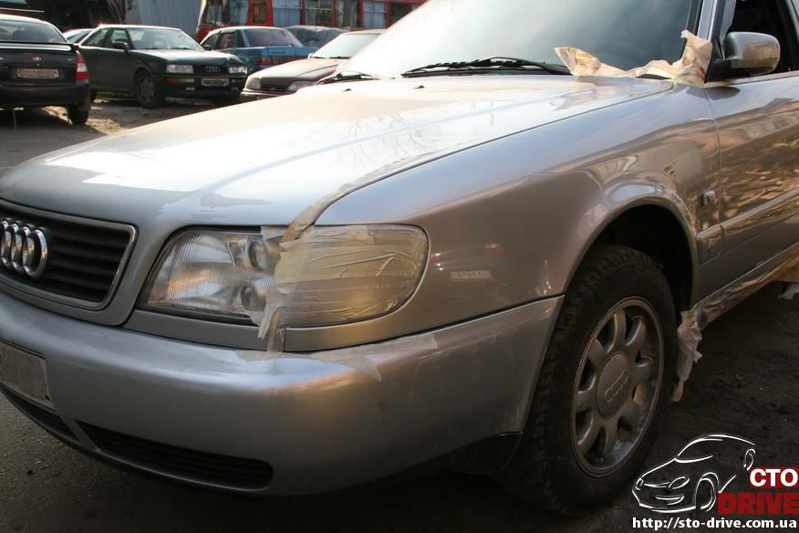 audi a6 universal remont bamperov rihtovka pokraska 2584 Audi A6, универсал   ремонт бамперов, рихтовка, покраска