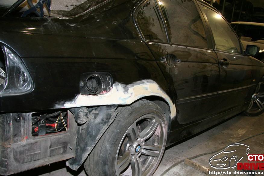 bmw e46 polnaya pokraska avto kiev 0087 BMW E46   Полная покраска авто Киев