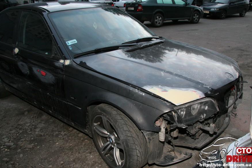 bmw e46 polnaya pokraska avto kiev 0147 BMW E46   Полная покраска авто Киев