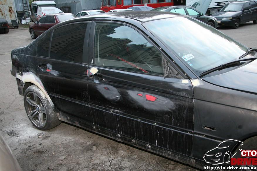bmw e46 polnaya pokraska avto kiev 0148 BMW E46   Полная покраска авто Киев