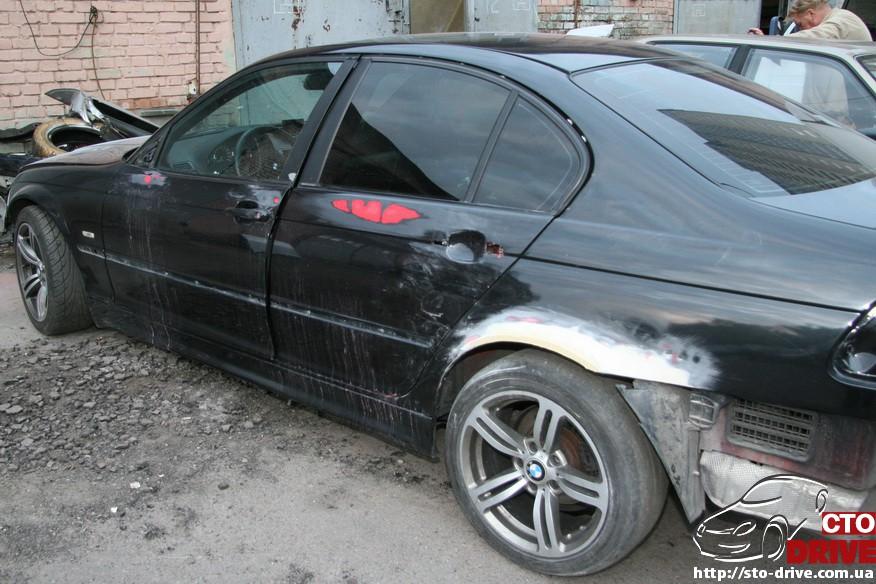 bmw e46 polnaya pokraska avto kiev 0150 BMW E46   Полная покраска авто Киев