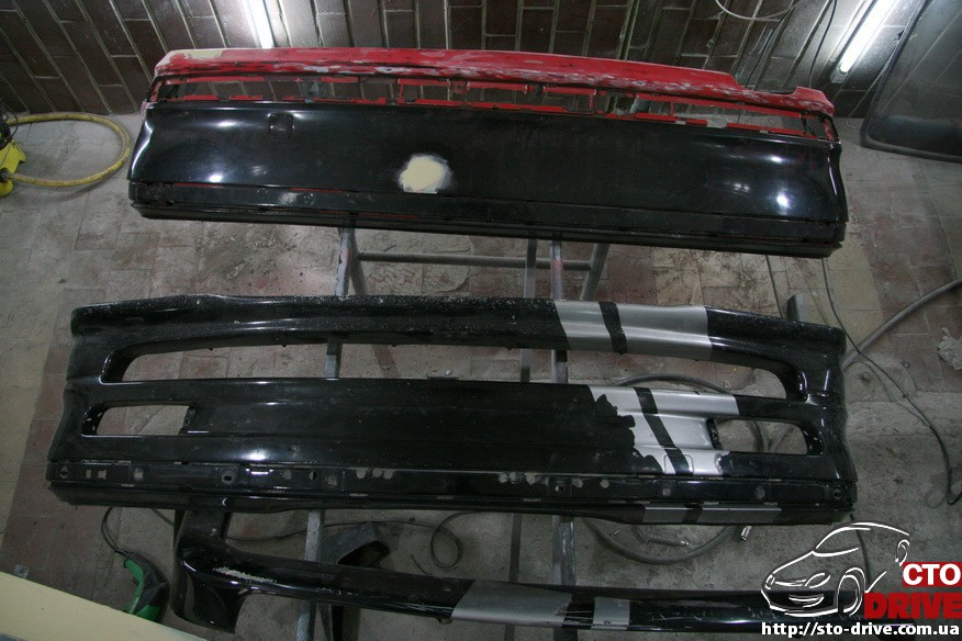 bmw e46 polnaya pokraska avto kiev 0464 BMW E46   Полная покраска авто Киев