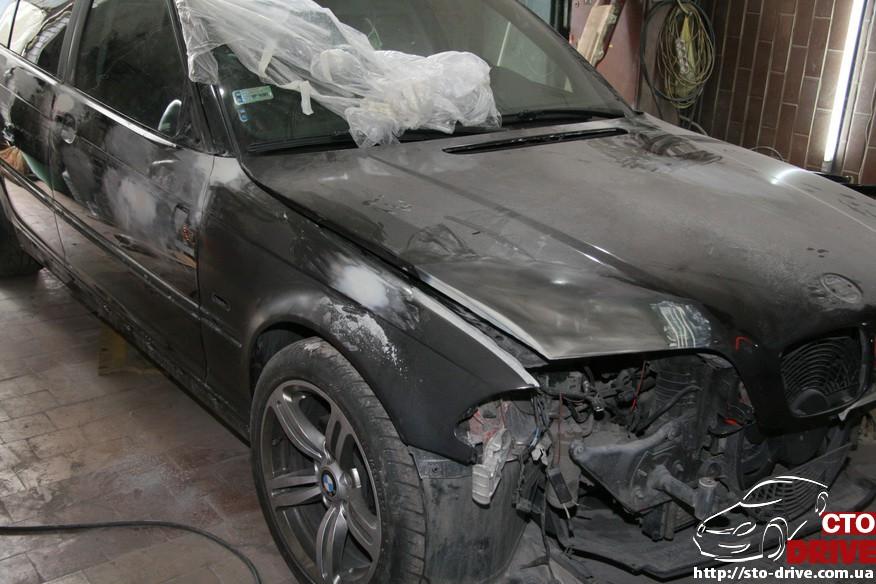 bmw e46 polnaya pokraska avto kiev 0478 BMW E46   Полная покраска авто Киев