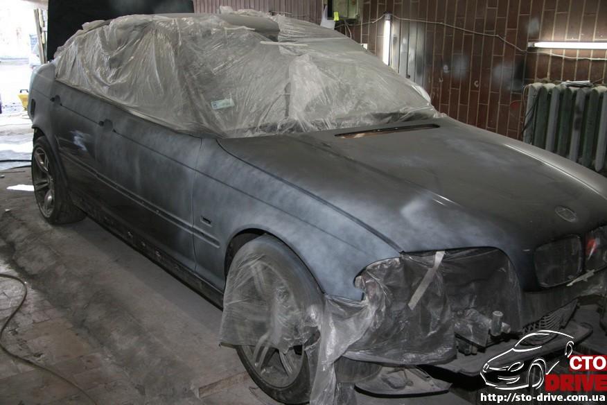 bmw e46 polnaya pokraska avto kiev 0918 BMW E46   Полная покраска авто Киев