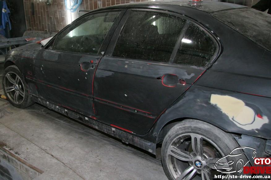 bmw e46 polnaya pokraska avto kiev 1038 BMW E46   Полная покраска авто Киев