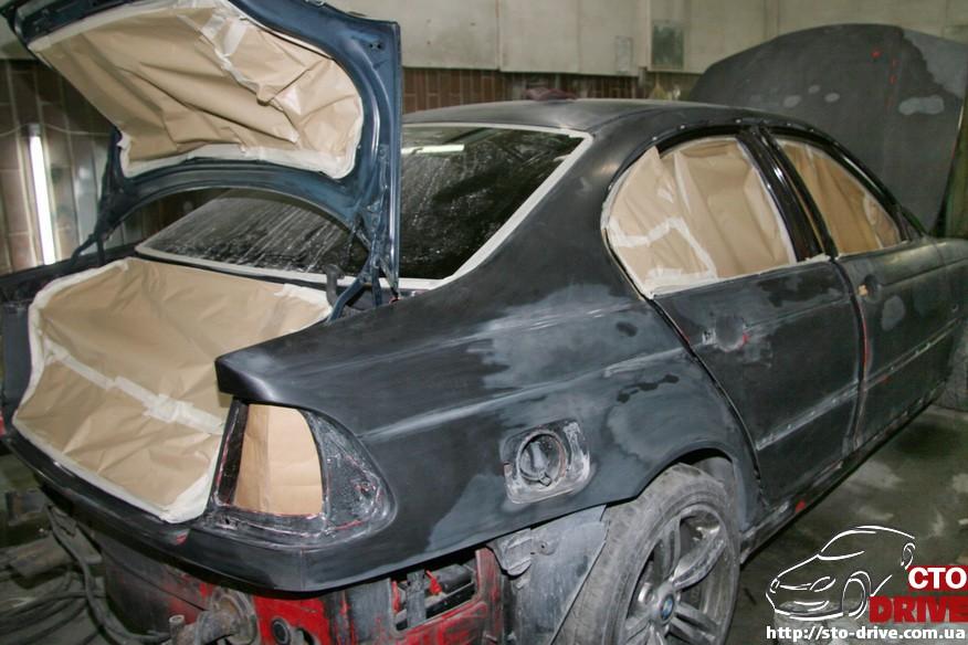 bmw e46 polnaya pokraska avto kiev 1239 BMW E46   Полная покраска авто Киев