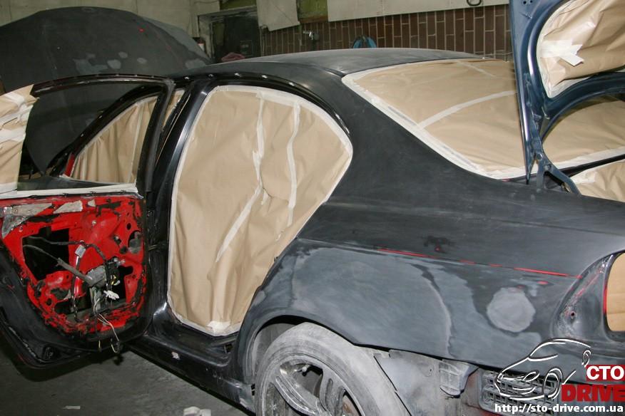 bmw e46 polnaya pokraska avto kiev 1249 BMW E46   Полная покраска авто Киев