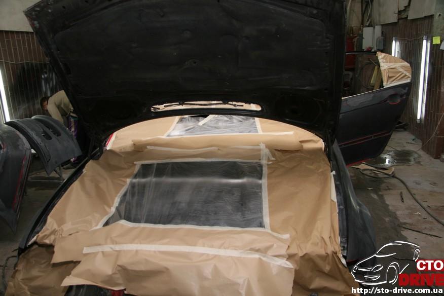 bmw e46 polnaya pokraska avto kiev 1254 BMW E46   Полная покраска авто Киев