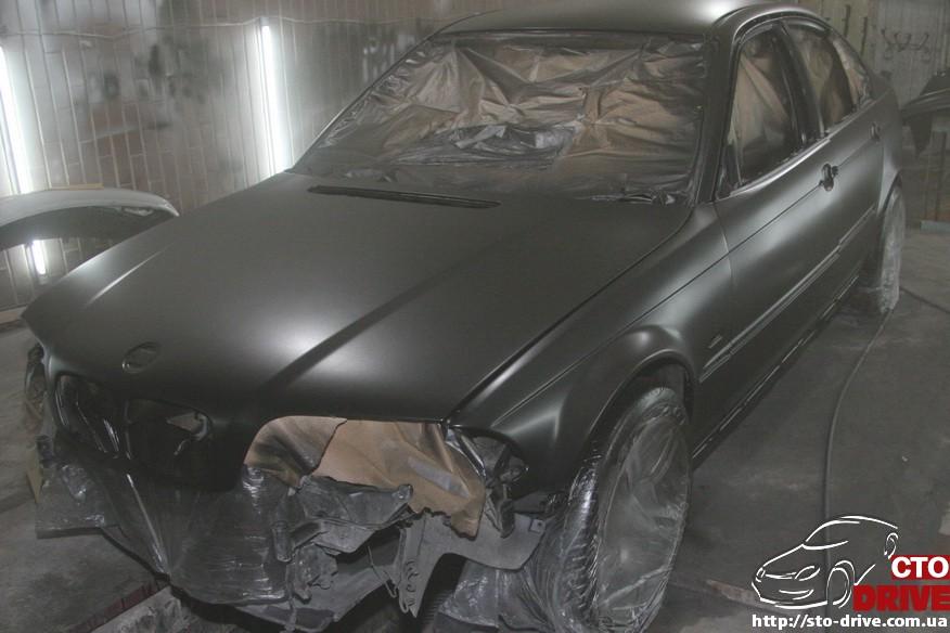 bmw e46 polnaya pokraska avto kiev 1413 BMW E46   Полная покраска авто Киев