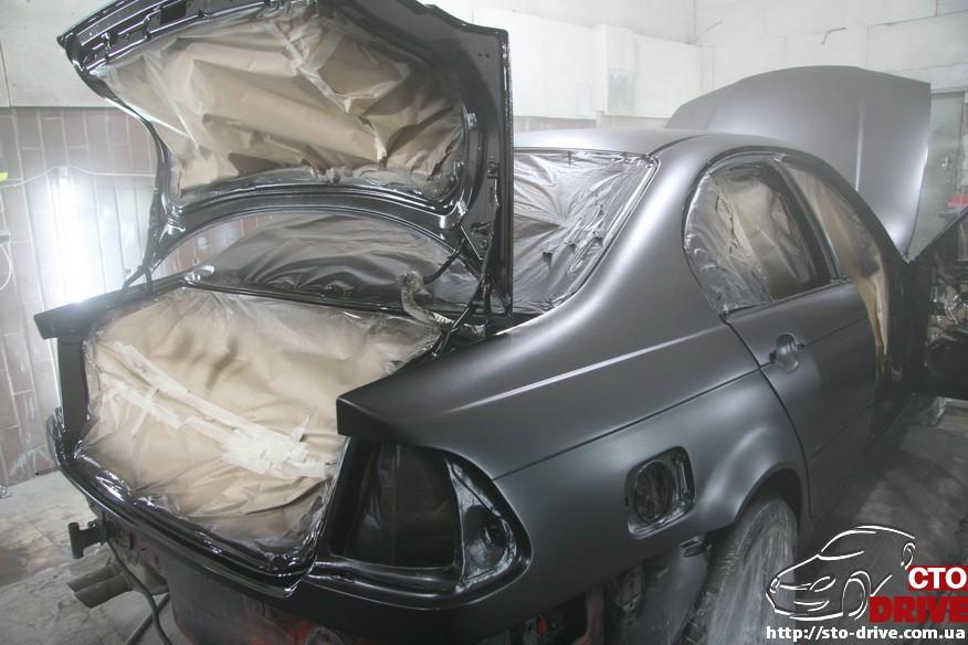 bmw e46 polnaya pokraska avto kiev 1461 BMW E46   Полная покраска авто Киев