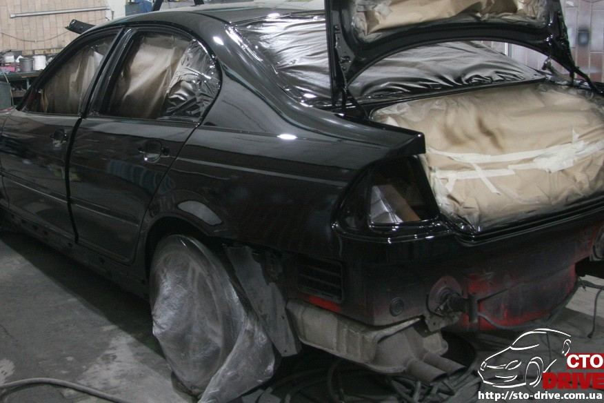 bmw e46 polnaya pokraska avto kiev 1581 BMW E46   Полная покраска авто Киев