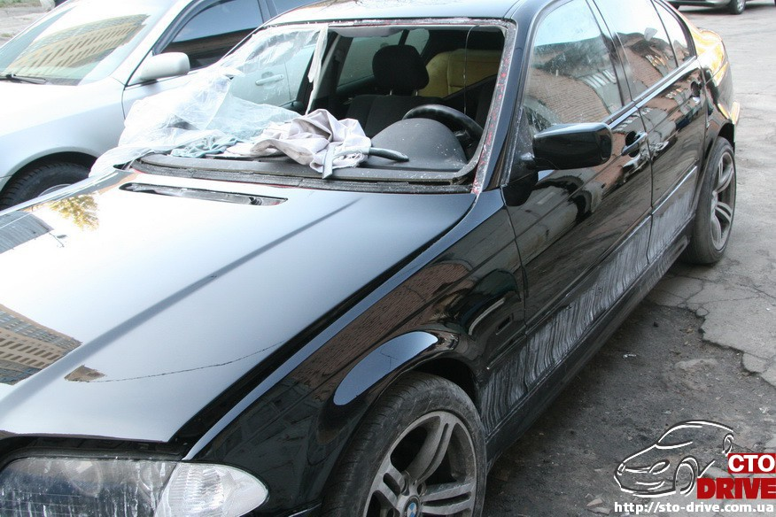 bmw e46 polnaya pokraska avto kiev 1876 BMW E46   Полная покраска авто Киев