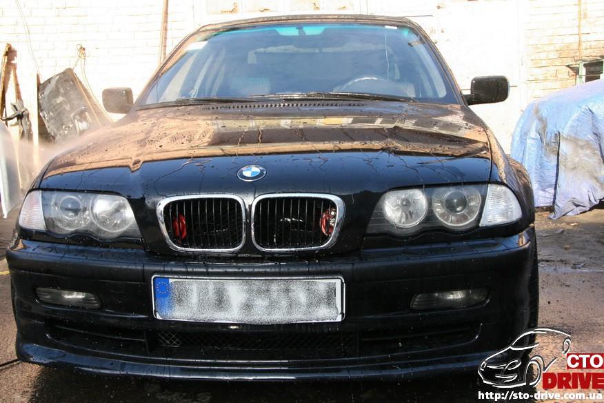 bmw e46 polnaya pokraska avto kiev 2120 BMW E46   Полная покраска авто Киев