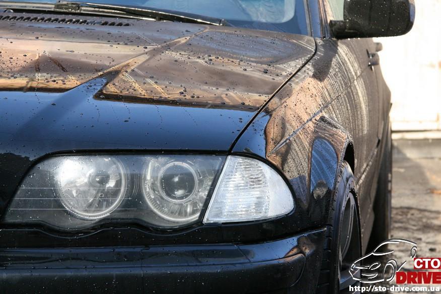 bmw e46 polnaya pokraska avto kiev 2124 BMW E46   Полная покраска авто Киев