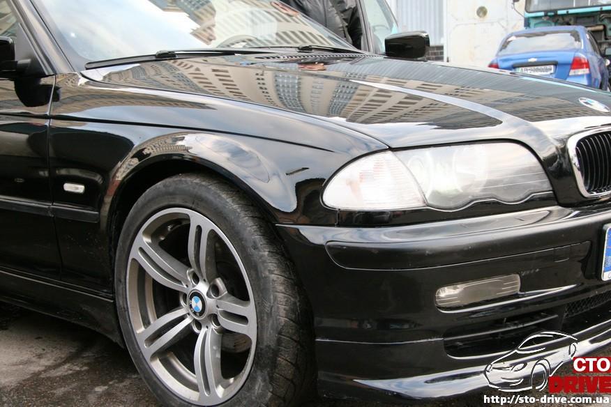 bmw e46 polnaya pokraska avto kiev 2189 BMW E46   Полная покраска авто Киев