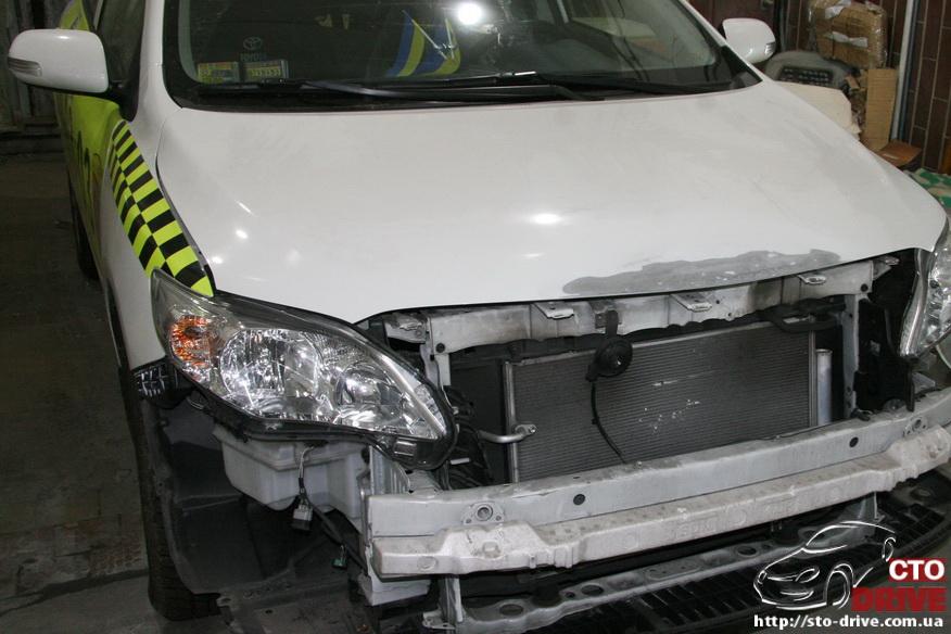 kuzovnoy remont toyota corolla avtomobil taksi 3375 Кузовной ремонт Toyota Corolla (автомобиль такси)