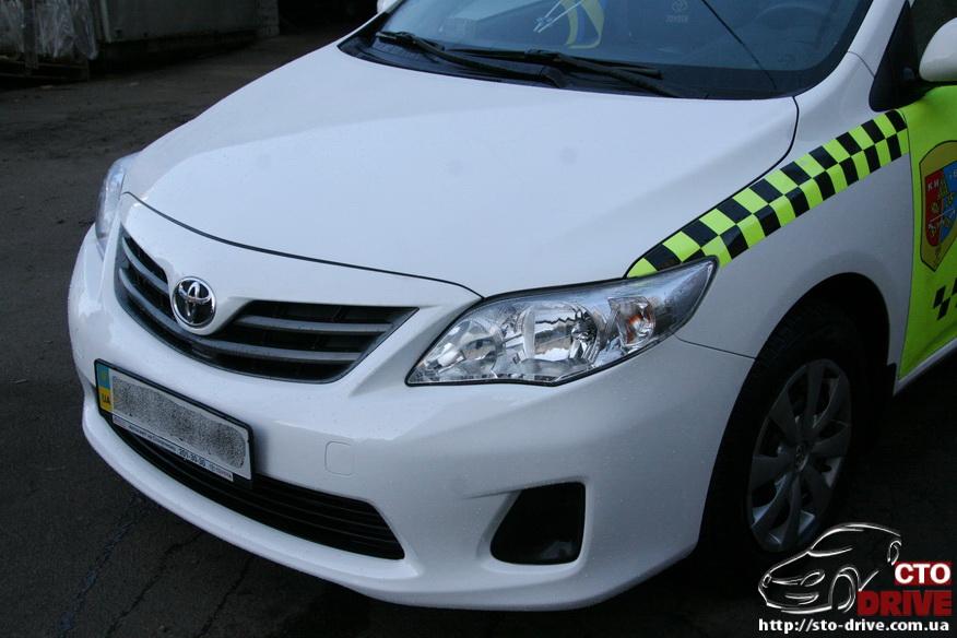 kuzovnoy remont toyota corolla avtomobil taksi 3583 Кузовной ремонт Toyota Corolla (автомобиль такси)