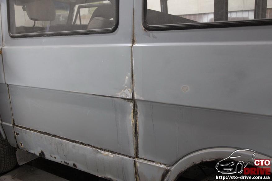 polnaya pokraska busa volkswagen lt 28 6673 Полная покраска микроавтобуса   Volkswagen LT 28. Капремонт двигателя. Антикоррозийная обработка