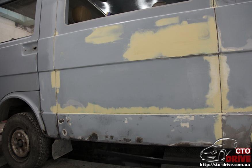 polnaya pokraska busa volkswagen lt 28 6762 Полная покраска микроавтобуса   Volkswagen LT 28. Капремонт двигателя. Антикоррозийная обработка