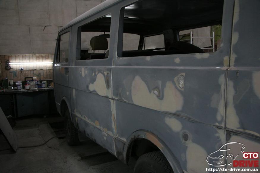 polnaya pokraska busa volkswagen lt 28 9773 Полная покраска микроавтобуса   Volkswagen LT 28. Капремонт двигателя. Антикоррозийная обработка