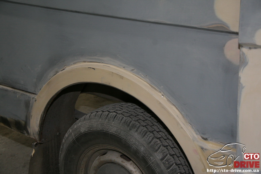 polnaya pokraska mikroavtobusa volkswagen lt 28 0060 Полная покраска микроавтобуса   Volkswagen LT 28. Капремонт двигателя. Антикоррозийная обработка