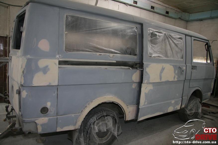 polnaya pokraska mikroavtobusa volkswagen lt 28 0137 Полная покраска микроавтобуса   Volkswagen LT 28. Капремонт двигателя. Антикоррозийная обработка