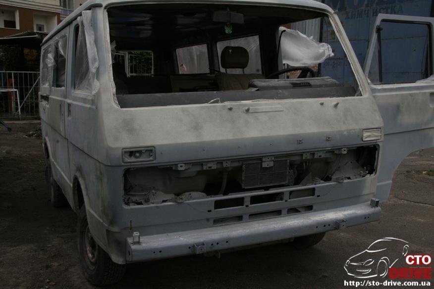 polnaya pokraska mikroavtobusa volkswagen lt 28 0241 Полная покраска микроавтобуса   Volkswagen LT 28. Капремонт двигателя. Антикоррозийная обработка