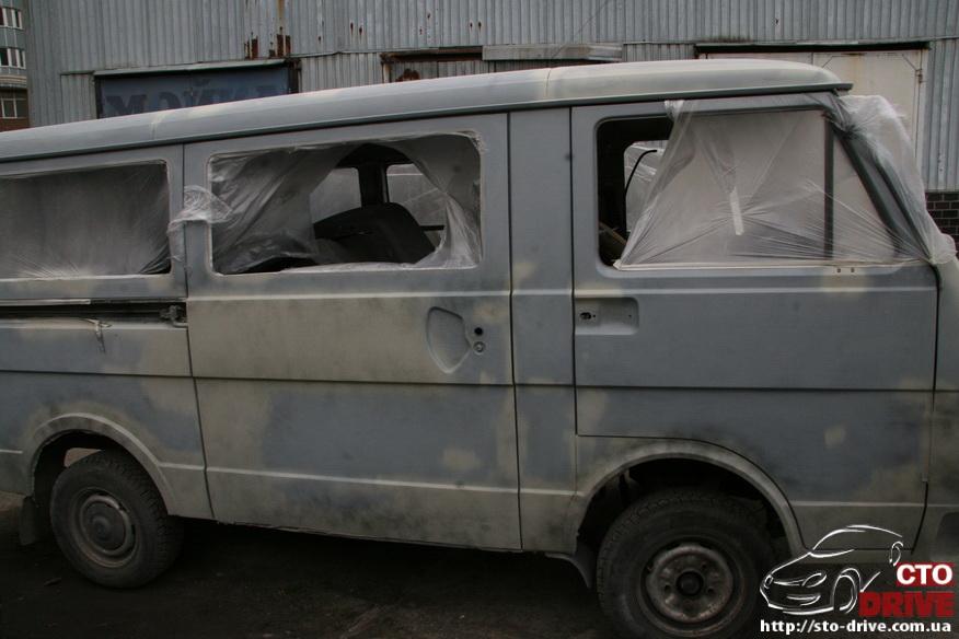 polnaya pokraska mikroavtobusa volkswagen lt 28 0242 Полная покраска микроавтобуса   Volkswagen LT 28. Капремонт двигателя. Антикоррозийная обработка