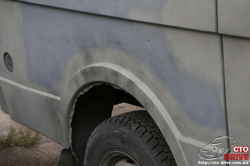 polnaya pokraska mikroavtobusa volkswagen lt 28 0245 Полная покраска микроавтобуса   Volkswagen LT 28. Капремонт двигателя. Антикоррозийная обработка