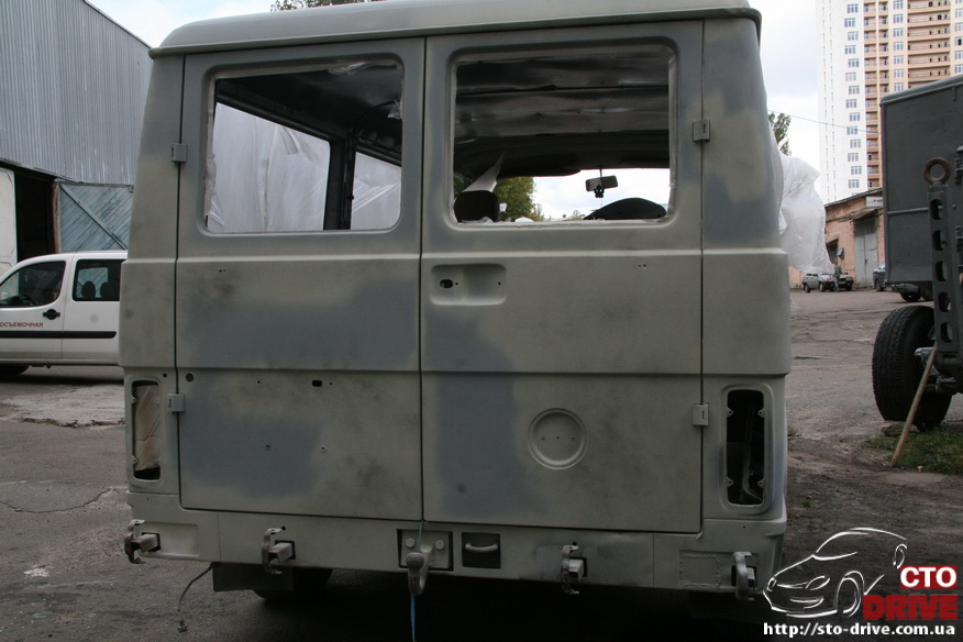 polnaya pokraska mikroavtobusa volkswagen lt 28 0248 Полная покраска микроавтобуса   Volkswagen LT 28. Капремонт двигателя. Антикоррозийная обработка