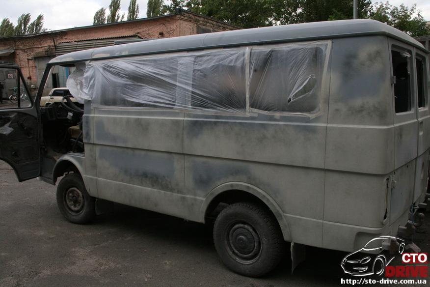 polnaya pokraska mikroavtobusa volkswagen lt 28 0249 Полная покраска микроавтобуса   Volkswagen LT 28. Капремонт двигателя. Антикоррозийная обработка