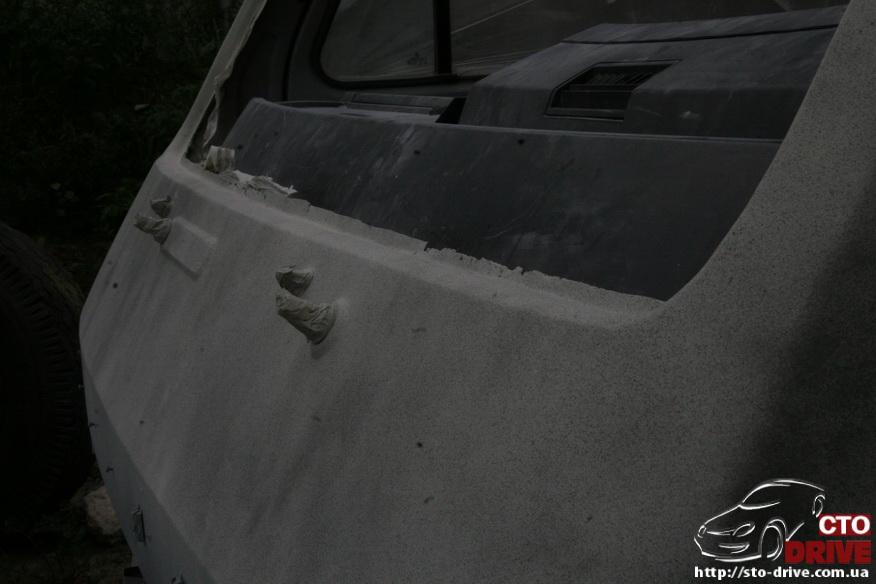 polnaya pokraska mikroavtobusa volkswagen lt 28 0254 Полная покраска микроавтобуса   Volkswagen LT 28. Капремонт двигателя. Антикоррозийная обработка