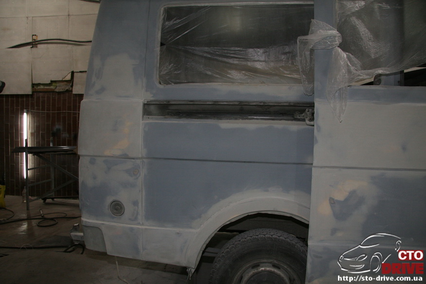polnaya pokraska mikroavtobusa volkswagen lt 28 0384 Полная покраска микроавтобуса   Volkswagen LT 28. Капремонт двигателя. Антикоррозийная обработка