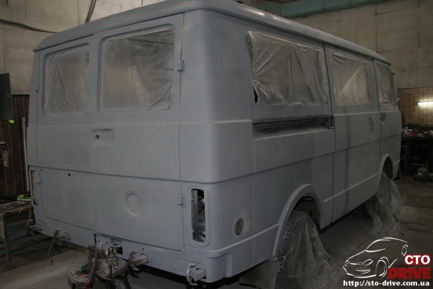 polnaya pokraska mikroavtobusa volkswagen lt 28 0392 Полная покраска микроавтобуса   Volkswagen LT 28. Капремонт двигателя. Антикоррозийная обработка