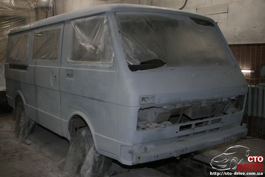 polnaya pokraska mikroavtobusa volkswagen lt 28 0396 Полная покраска микроавтобуса   Volkswagen LT 28. Капремонт двигателя. Антикоррозийная обработка