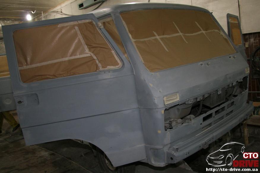 polnaya pokraska mikroavtobusa volkswagen lt 28 0640 Полная покраска микроавтобуса   Volkswagen LT 28. Капремонт двигателя. Антикоррозийная обработка