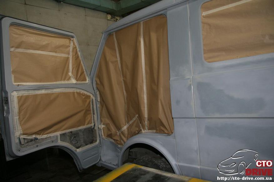 polnaya pokraska mikroavtobusa volkswagen lt 28 0643 Полная покраска микроавтобуса   Volkswagen LT 28. Капремонт двигателя. Антикоррозийная обработка
