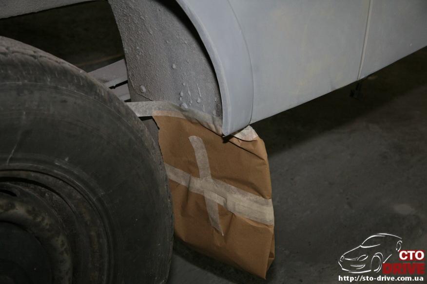 polnaya pokraska mikroavtobusa volkswagen lt 28 0645 Полная покраска микроавтобуса   Volkswagen LT 28. Капремонт двигателя. Антикоррозийная обработка