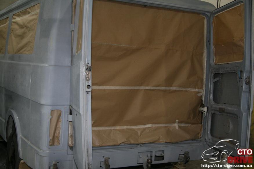 polnaya pokraska mikroavtobusa volkswagen lt 28 0647 Полная покраска микроавтобуса   Volkswagen LT 28. Капремонт двигателя. Антикоррозийная обработка