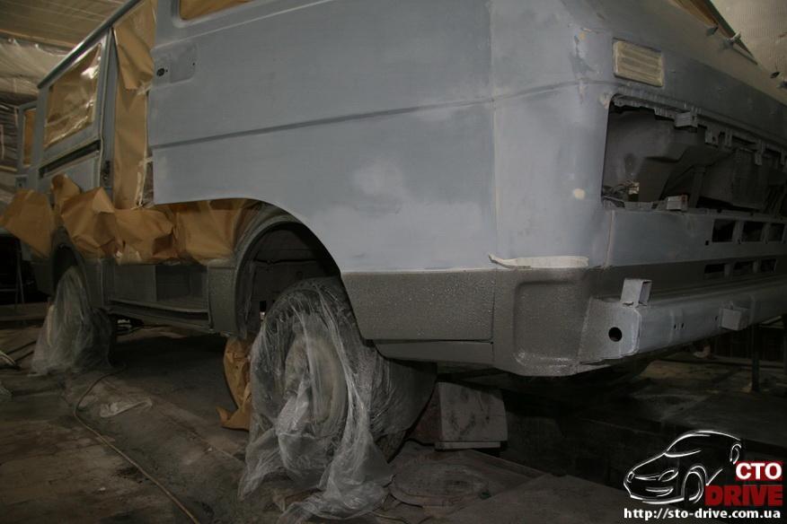 polnaya pokraska mikroavtobusa volkswagen lt 28 0695 Полная покраска микроавтобуса   Volkswagen LT 28. Капремонт двигателя. Антикоррозийная обработка