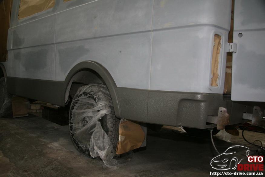 polnaya pokraska mikroavtobusa volkswagen lt 28 0702 Полная покраска микроавтобуса   Volkswagen LT 28. Капремонт двигателя. Антикоррозийная обработка